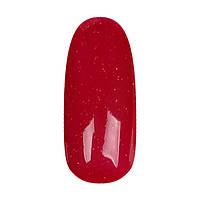 Coutur Grandiose №822, 9 мл (Ярко-красный с плотным мерцанием, плотный)