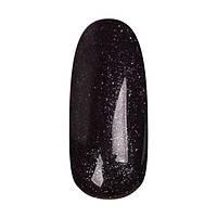 Гель лак Coutur Black Label №190, 9 мл (Чёрный с неоновым мерцанием, плотный)