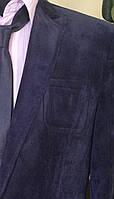 Стильный молодежный вельветовый пиджак с заплатками