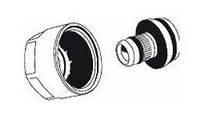 """З'єднання різьбові для підключення труб RAUTITAN stabil 20 до колекторів та запірної арматури 3/4"""" (комп 2 шт)"""