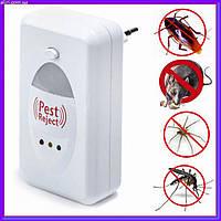 Отпугиватель грызунов и насекомых PEST REJECT от сети