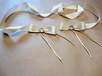 Лента для  связывания свадебных бокалов, разные цвета