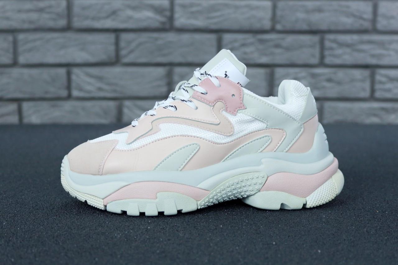 d008fc6d Женские кроссовки Ash Addict Sneakers розовые топ реплика -  Интернет-магазин обуви и одежды KedON