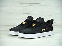 Кроссовки мужские Nike Tiempo Vetta черное золото топ реплика