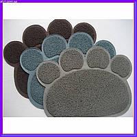 Коврик для собак и кошек Paw Print Litter Mat