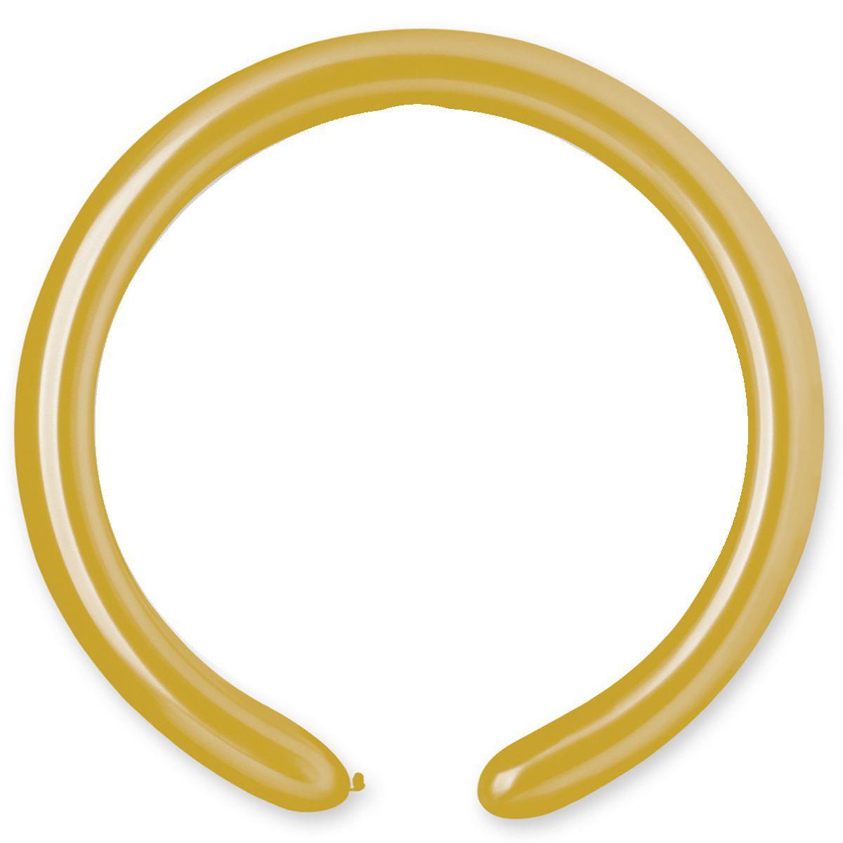Шары ШДМ (260-2/74 металлик сатин золотой) D4