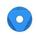 Алмазная фреза Distar GS-W 95/МШМ-6 №00/30 Vortex 6шт., фото 4