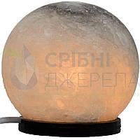 Соляна лампа Шар, дитячий нічник (13*13*13), 2 кг