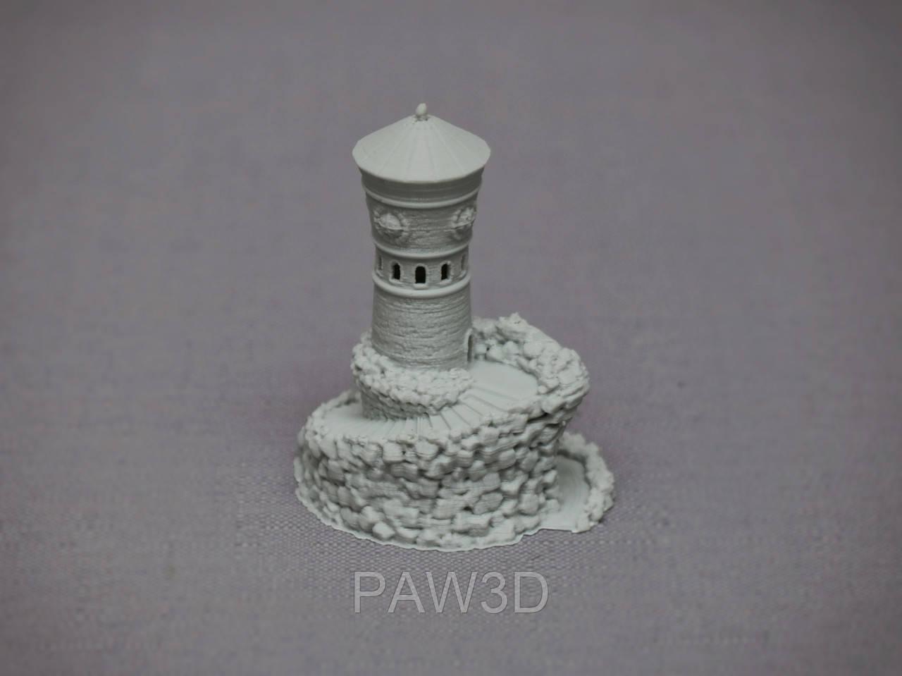 Башня серый