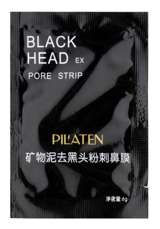 Чорна лікувальна маска для чищення особи Black Head Pilaten (Black Mask)