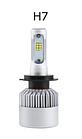 Комплект ксенону для машини LED лампи Xenon S2 H7 Ксенон автомобільний світ, фото 3