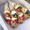Вафли с кремом и фруктами, фото 6