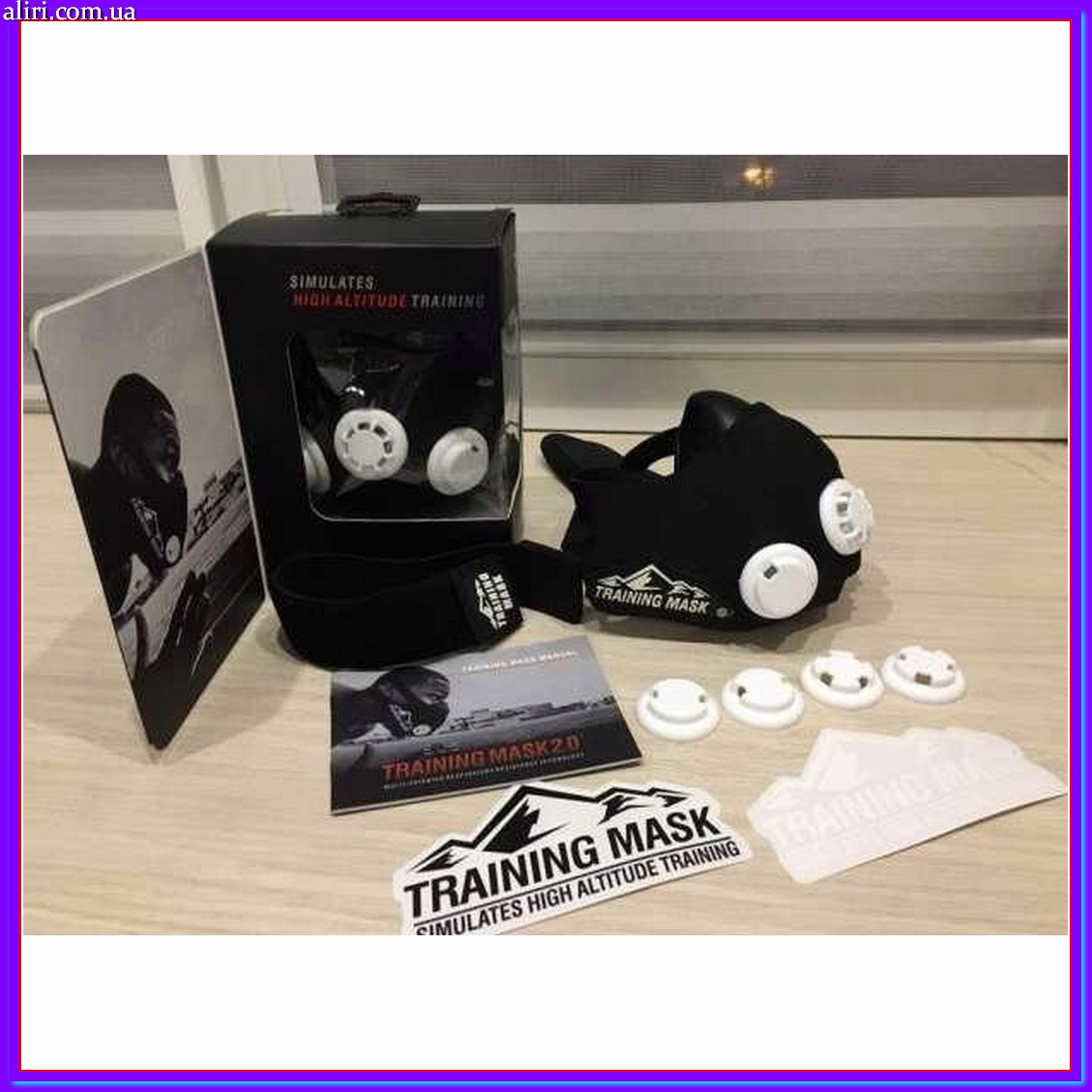Тренировочная маска для тренировок ElevationTraining Mask 2.0