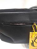Модная маленькая женская сумка. Сумка клатч женская через плечо/черная/Сумки, фото 2