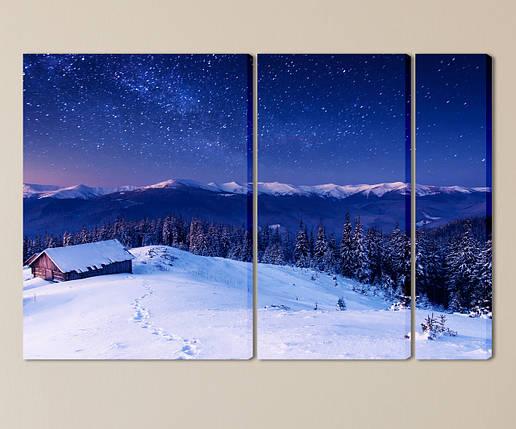 Модульная картина Горный пейзаж, фото 2