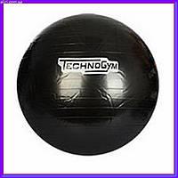 Мяч для фитнеса-65см MS 0982 черный, фото 1
