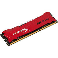 Оперативная память Kingston HyperX Savage Red XMP 8GB 1x8GB 1866MHz DDR3 CL9 (HX318C9SR/8)