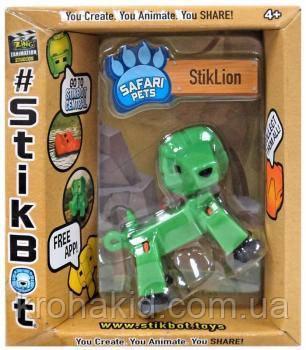 Фигурка Лев StikLion для анимационного творчества TST622SF Stikbot Safari Pets, фото 2