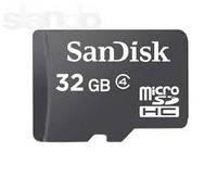 Карту памяти microSD 32 GB