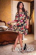 Платье роза  шифон, фото 2