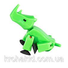Фігурка Носоріг StikRhion для анімаційного творчості TST622SF Stikbot Safari Pets, фото 3