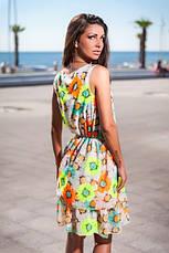 Платье ромашки шифон , фото 3