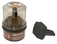 Крем-Блеск для обуви Silver коричневый, фото 1