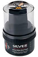 Крем-Блеск для обуви Silver черный