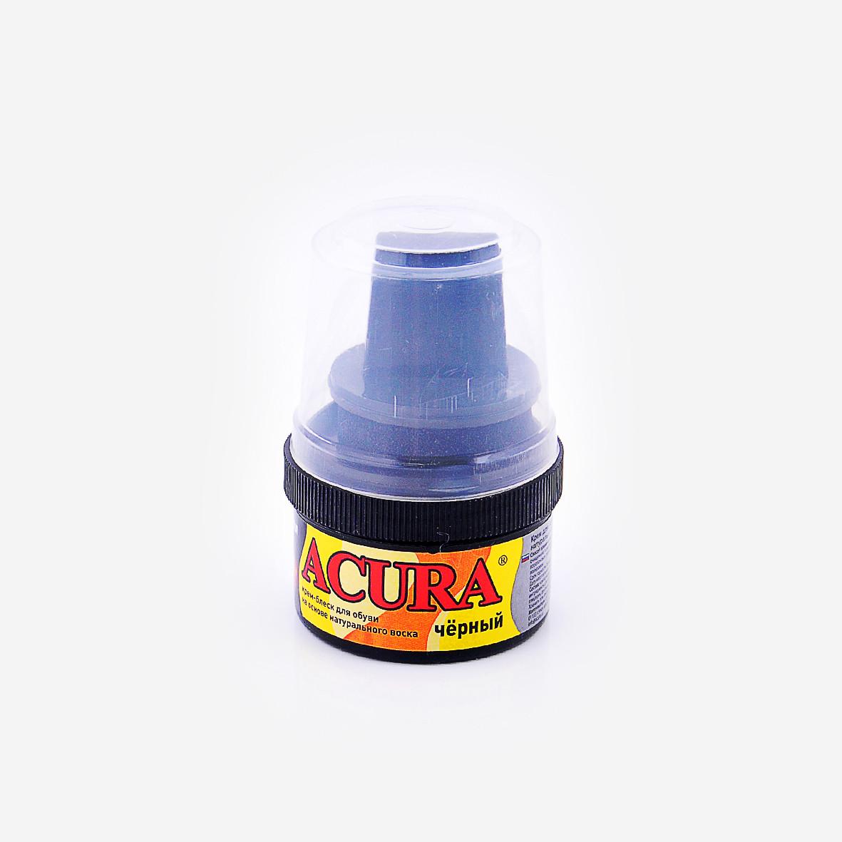 Крем для обуви Акура Acura черный