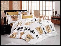 Комплект постельного белья First Choice бамбук Elodia gold полуторка (kod 3172)