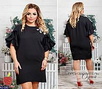 97f77d757d59 Туника черная большого размера в категории платья женские в Украине ...