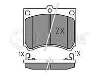 Тормозные колодки передние на MAZDA 323 BG 1.8; BA 2.0 D (MEYLE)