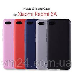 Чехол-бампер Xiaomi Silicone Caseдля Xiaomi 6A Оригинал  подаок стекло 9Н