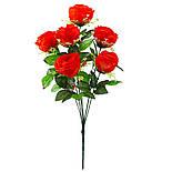 Букет пионовидная роза-розетка,  68см (10 шт. в уп), фото 3