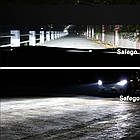 Комплект светодиодных  LED ламп T6-H7 Turbo LED, фото 4