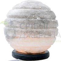 Соляна лампа Сфера для спальні (18*18*18), 6-7 кг