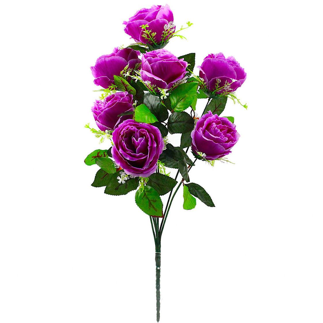 Букет пионовидная роза-розетка,  68см (10 шт. в уп)