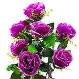 Букет пионовидная роза-розетка,  68см (10 шт. в уп), фото 4