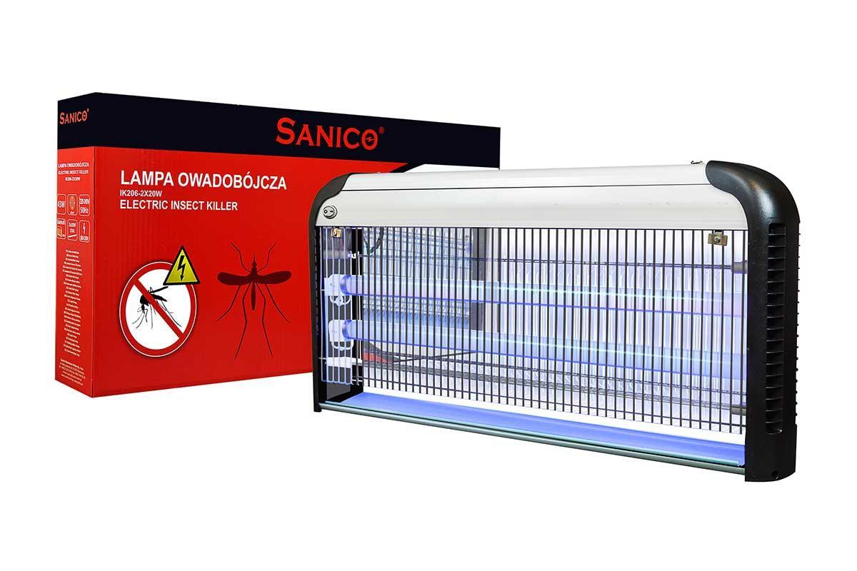 Ловушка для насекомых Sanico 40W 2*20Вт 120 кв.м.