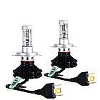 Комплект светодиодных LED ламп Xenon X3 H4 автосвет набор 2 шт, фото 4