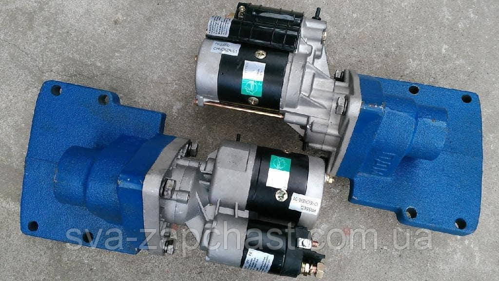 Комплект переоборудования МТЗ-80 ЮМЗ-6 Т-150 с ПД-10 П-350 на стартер переходник + стартер