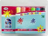 Краски по стеклу Прилипайка Гамма 6 цветов