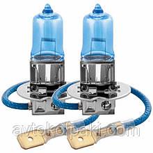 Галогенна авто лампа BREVIA H3 12V 55W PK22s Power Blue S2
