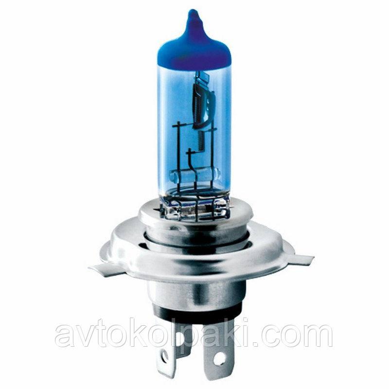Галогенная авто лампа BREVIA H4 12V 60/55W P43t Power Blue CP * 1шт