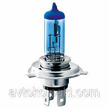 Галогенна авто лампа BREVIA H4 12V 60/55W P43t Power Blue CP * 1шт