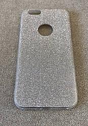 Силиконовый чехол-накладка Remax Glitter для iPhone 6/6S (Gold)