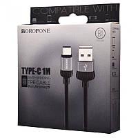 USB кабель на Type-C Borofone BX8 (1m) (1 цвет)