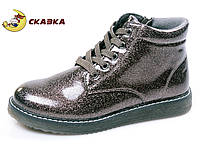 Ботинки для девочки Сказка R510036557 Silver Grey 33-37.5