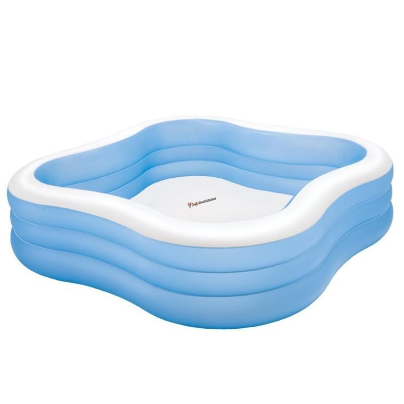 """Надувной бассейн 57495 Intex """"Акварена"""", 541 литра 229*229*56 см"""