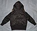 Демисезонная куртка-бомбер 2-сторонняя для девочки кор/роз (Quadrifoglio, Польша), фото 6